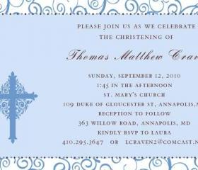 Set of 20 First Holy Communion, Confirmation or Baptism Invitations 